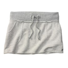 Moving Comfort Urban Gym Skirt (For Women) in Grey Heather - Closeouts