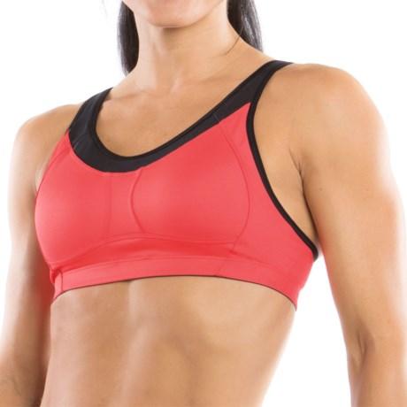 Moving Comfort Vero Sports Bra - Medium Impact (For Women) in Punch