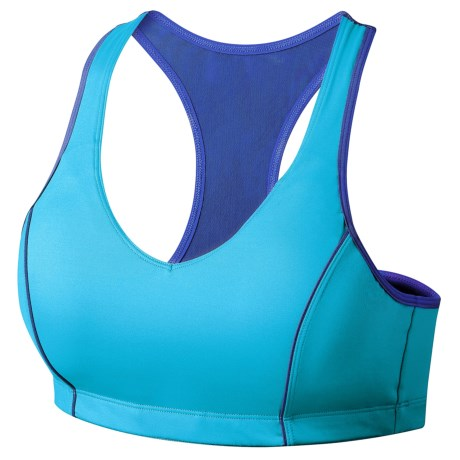 Moving Comfort Vixen Sports Bra - High Impact, Racerback (For Women) in Stardust