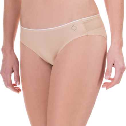 Moving Comfort Workout Panties - 2-Pack, Seamless, Bikini (For Women) in Latte - Closeouts