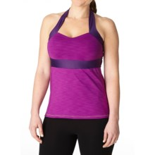 Moxie Cycling Cadence Sweetheart Cycling Jersey - Racerback (For Women) in Iris - Closeouts