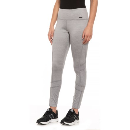 """8c12b32867f MPG Amiable Thermal Leggings - Inseam 27"""" (For Women) in Winter White Combo"""