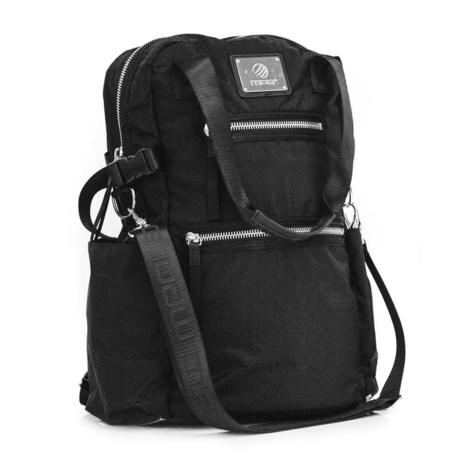 MPG Convertible Backpack in Black