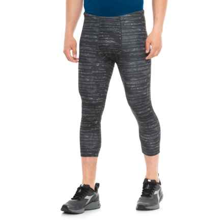 MPG Division 3/4 Leggings (For Men) in Micro Chip - Closeouts