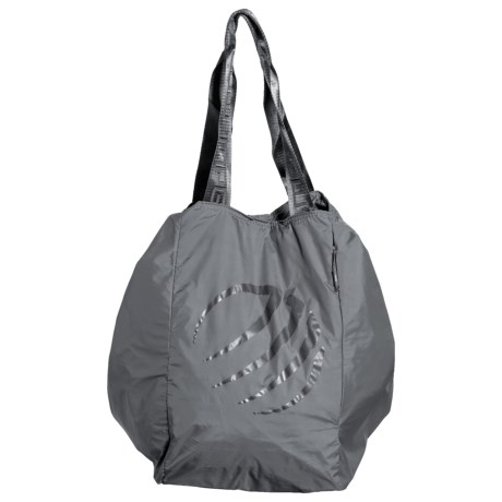 MPG Slouch Tote Bag in Charcoal