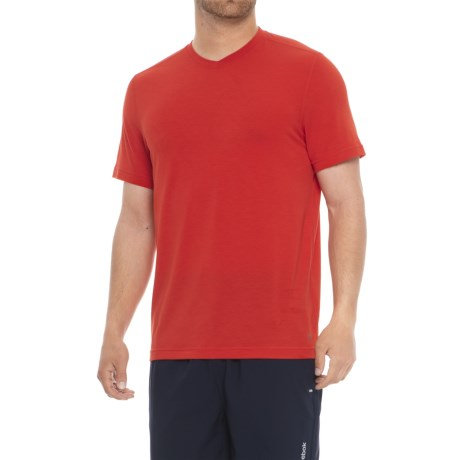 MPG Tower T-Shirt - Short Sleeve (For Men) in Fiery Red