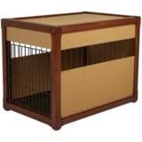 """Mr. Herzher's Deluxe Wicker Dog Crate - 36x28x24"""""""