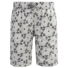 Mr. Swim Boardshorts - Built-In Briefs (For Little Boys) in Grey - Closeouts