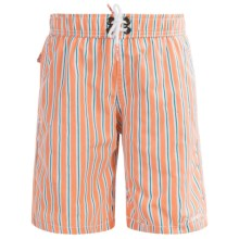 Mr. Swim Boardshorts - Built-In Briefs (For Little Boys) in Peach - Closeouts