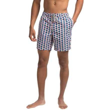 Mr. Swim Nylon Mesh Bucket Swim Trunks (For Men) in Grey Boxes - Closeouts