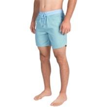 Mr. Swim Printed Boardshorts (For Men) in Green Geo - Closeouts