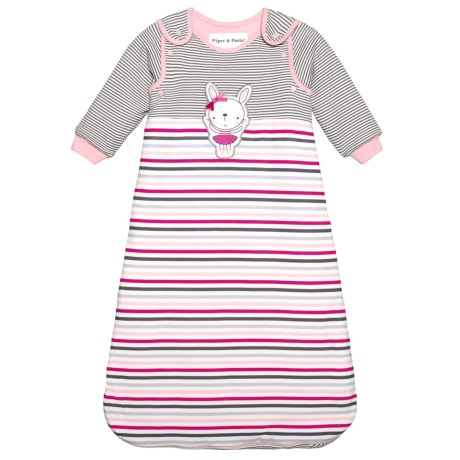 Mrs. Bunny Sleeping Bag - Detachable Sleeves (For Infants)
