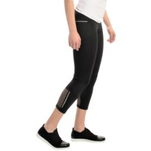 MSP by Miraclesuit Crochet Crop Leggings (For Women) in Black - Closeouts