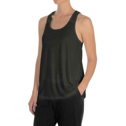 MSP by Miraclesuit Drape-Back Tank Top (For Women) in Black - Closeouts