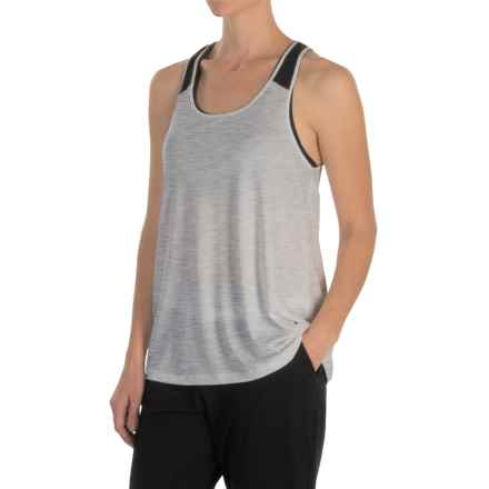 MSP by Miraclesuit Drape-Back Tank Top (For Women) in Grey - Closeouts