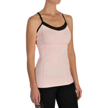 MSP by Miraclesuit Princess Seam Tank Top - Built-in Bra (For Women) in Rose - Closeouts