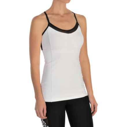 MSP by Miraclesuit Princess Seam Tank Top - Built-in Bra (For Women) in White - Closeouts