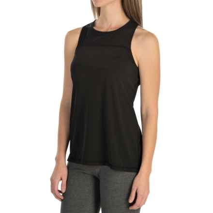 MSP by Miraclesuit Split-Back Tank Top - Racerback (For Women) in Black - Closeouts