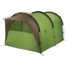 MSR Backcountry Barn Tent - 4-Person, 3-Season in Moss Green/Gray - Closeouts