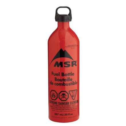 MSR Fuel Bottle - 30 fl.oz. in Red - 2nds