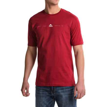 MSR Icon Shirt - Organic Cotton, Short Sleeve (For Men) in Red - Closeouts