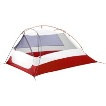 MSR Nook V2 Tent - 2-Person, 3-Season in Gray/Red - Closeouts