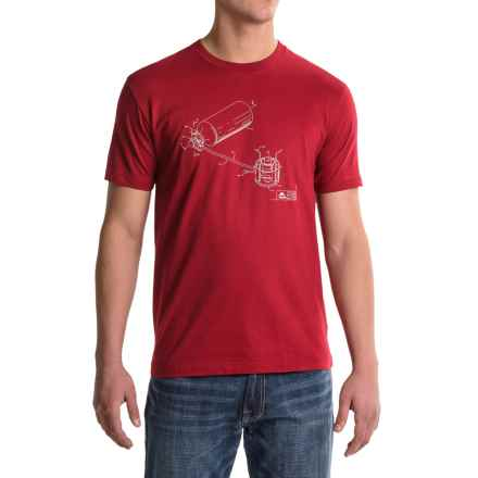 MSR Tech Model 9 Shirt - Organic Cotton, Short Sleeve (For Men) in Red - Closeouts
