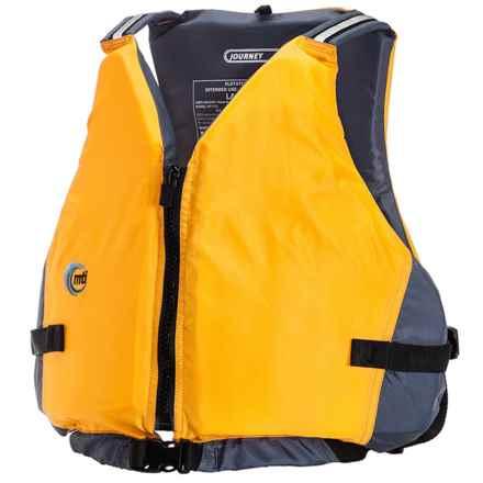 MTI Adventurewear Journey PFD Life Jacket - Type III in Mango - Closeouts