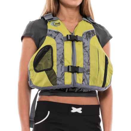 MTI Adventurewear Solaris Type III PFD Life Jacket in Olive Oil/Gray - Overstock