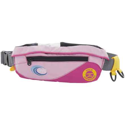 MTI Adventurewear SUP Type III PFD Life Jacket Safety Belt in Pink/Berry - Overstock