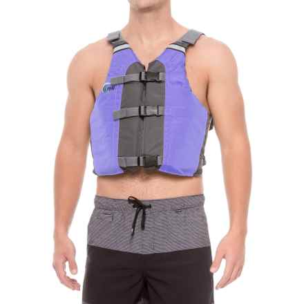 MTI Adventurewear Universal Type III PDF Life Jacket - All Person Fit in Periwinkle/Gray - Overstock