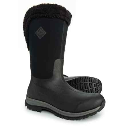 Muck Boot Company Apres Tall Boots - Waterproof, Insulated (For Women) in Black
