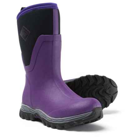 Muck Boot Company Arctic Sport II Mid Boots - Waterproof (For Women) in Acai - Closeouts