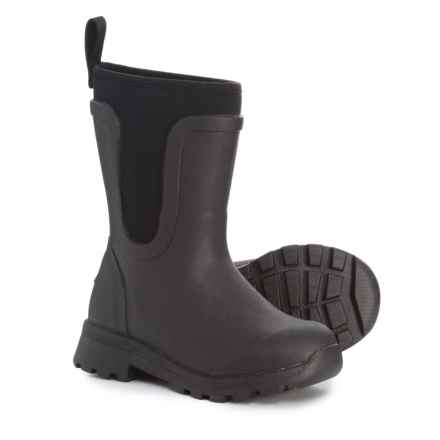 Muck Boot Company Cambridge Rain Boots - Waterproof, Insulated (For Boys) in Black - Closeouts