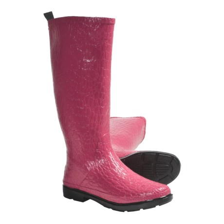 Muck Boot Company Croc Rain Boots - Waterproof (For Women) in Pink