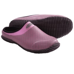 Muck Boot Company Daily Garden Clogs - Waterproof (For Girls) in Pink Houndstooth
