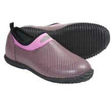 Muck Boot Company Daily Garden Shoes - Waterproof, Slip-Ons (For Women) in Pink Houndstooth - Closeouts
