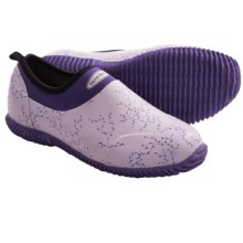 Muck Boot Company Daily Shoes - Waterproof (For Girls) in Plum Vine - Closeouts