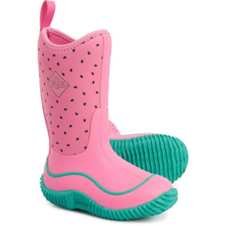 Muck Boot Company Hale Boots - Waterproof, Insulated (For Girls) in Pink