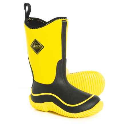 Muck Boot Company Hale Boots - Waterproof, Insulated (For Kids) in Yellow - Closeouts
