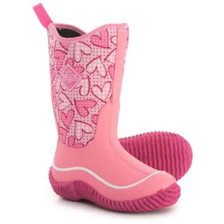 Muck Boot Company Hale Rain Boots - Waterproof (For Girls) in Pink - Closeouts