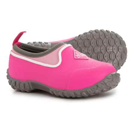 Muck Boot Company Muckster II Low Shoes - Waterproof, Insulated (For Girls) in Pink - Closeouts
