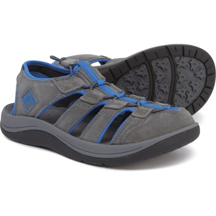 b9818259d238 Muck Boot Company Wanderer Sandals - Suede (For Men) in Gray Blue -