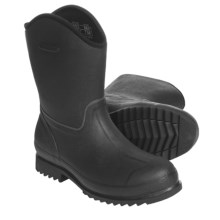 Muck Boot Company Wellie Ranch Work Boots - Waterproof (For Men and Women) in Black - Closeouts