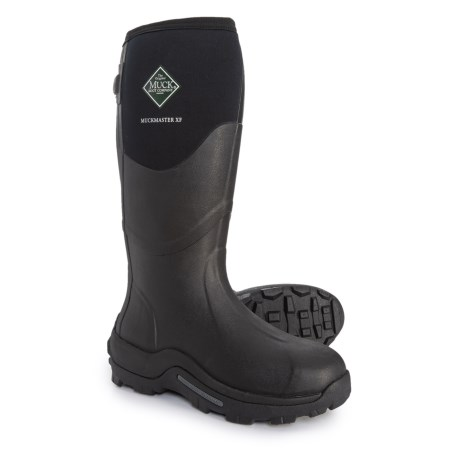 Muckmaster Extended Fit Basic Boots - Waterproof, Insulated (For Men) - BLACK (10 )