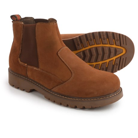 Muk Luks Blake Chelsea Boots - Leather (For Men) in Brown