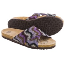 Muk Luks Dolly Sandals (For Women) in Purple - Closeouts