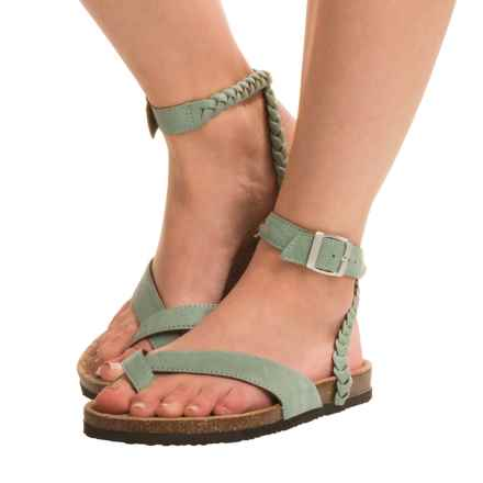 Muk Luks Estelle Sandals (For Women) in Jade - Closeouts