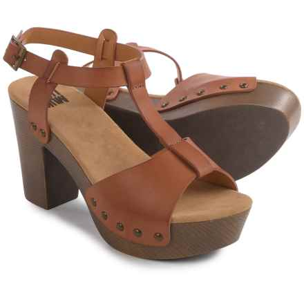 Muk Luks Gindy Sandals (For Women) in Cognac - Closeouts