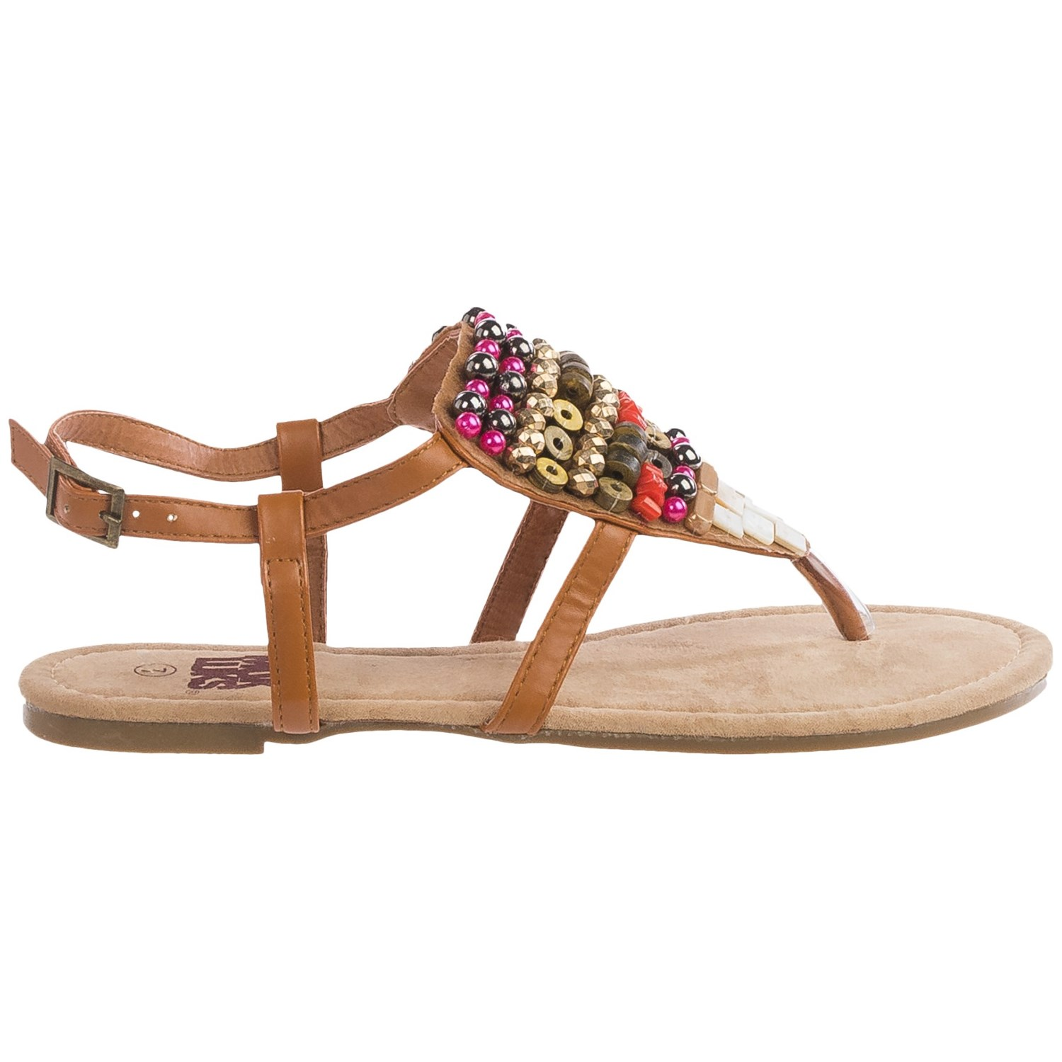 muk luks harlow beaded sandals for save 83
